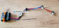 Cable harness with sensor for D5WZ 252162
