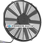 Fan SPAL universal suction 24V diameter 350mm 10 blades VA08