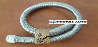 Exhaust pipe flexible 22x2 INOX 90cm Stainless Steel