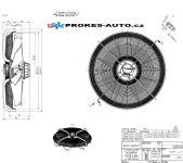 ZIEHL-ABEGG suction fan 910 mm 400V 6 poles 209589