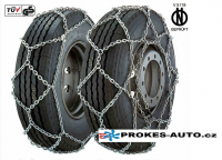 ALASKA Type X snow chains for 315/75 R22,5 wheels