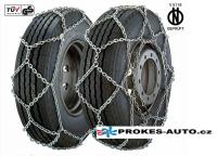 ALASKA Type X snow chains for 295/80 R22.5 wheels