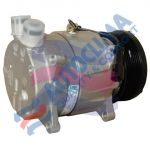 HARRISON UNI compressor V5 / 12V pulley 119mm PV8 Rotalock connection