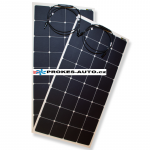 Set of flexible solar panels 2 x 110W / 12 or 24V incl. controller with bluetooth connection