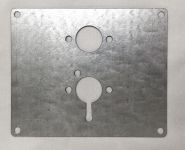 Mounting plate for Heating